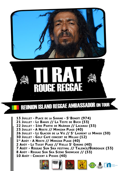 Ti Rat & Rouge Reggae On Tour